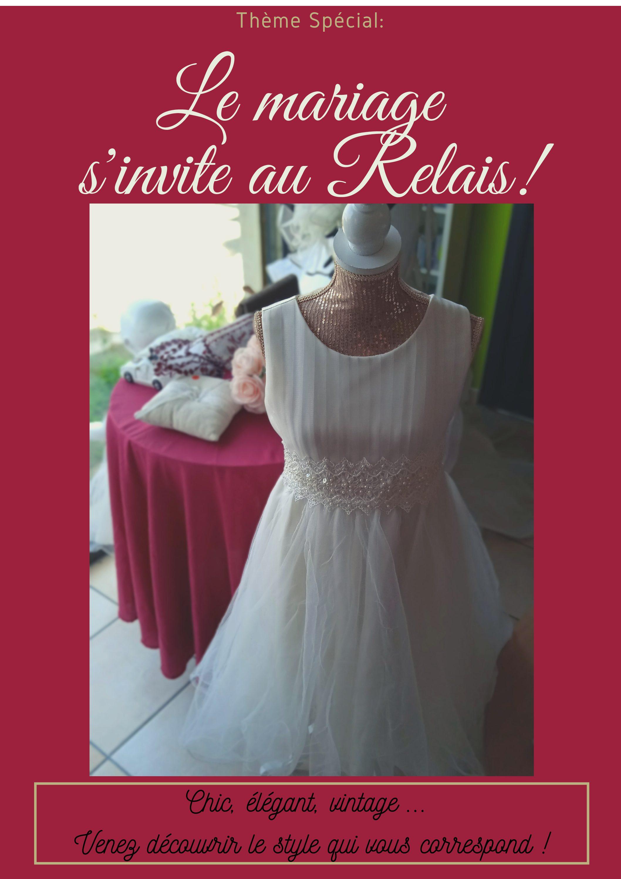 Le mariage s'invite au Relais