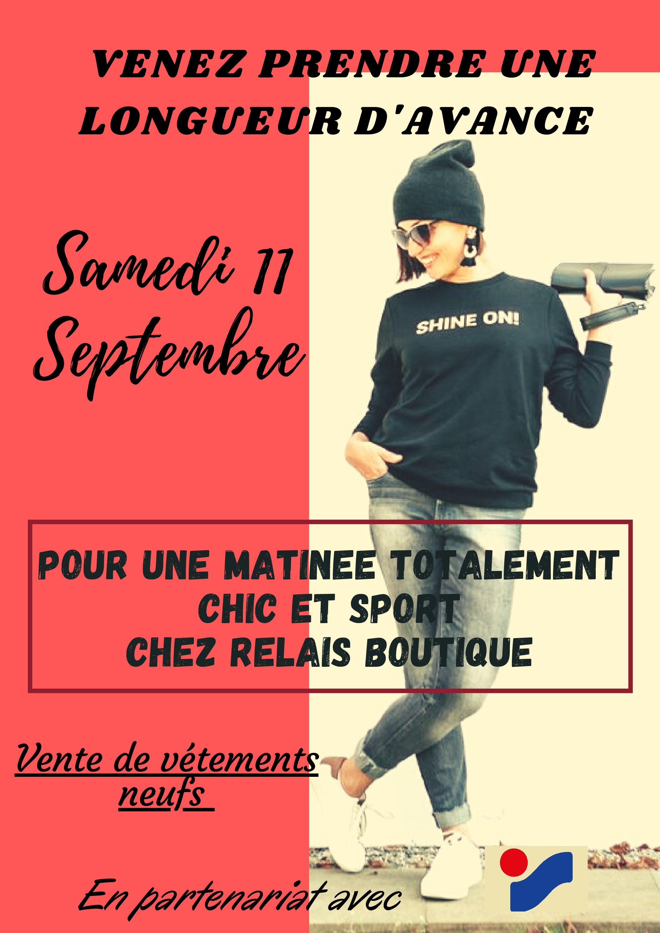 Ouverture Samedi 11 Septembre de Relais Boutique